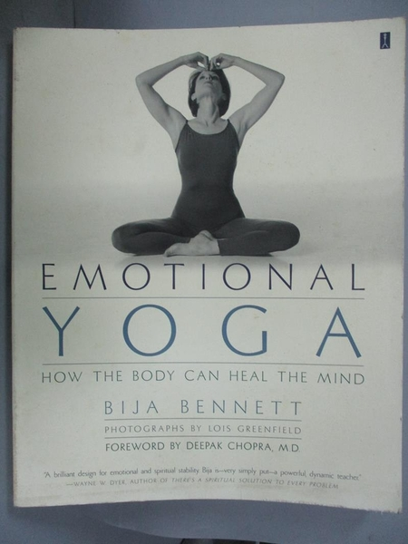 【書寶二手書T4/體育_WEZ】Emotional Yoga: How the Body Can Heal the Mi