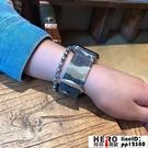 apple watch蘋果手表錶帶帆布迷彩表帶尼龍【邦邦男裝】