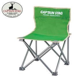 丹大戶外【Captain Stag】日本鹿牌 班比迷你折疊野營椅 M-3917 綠色