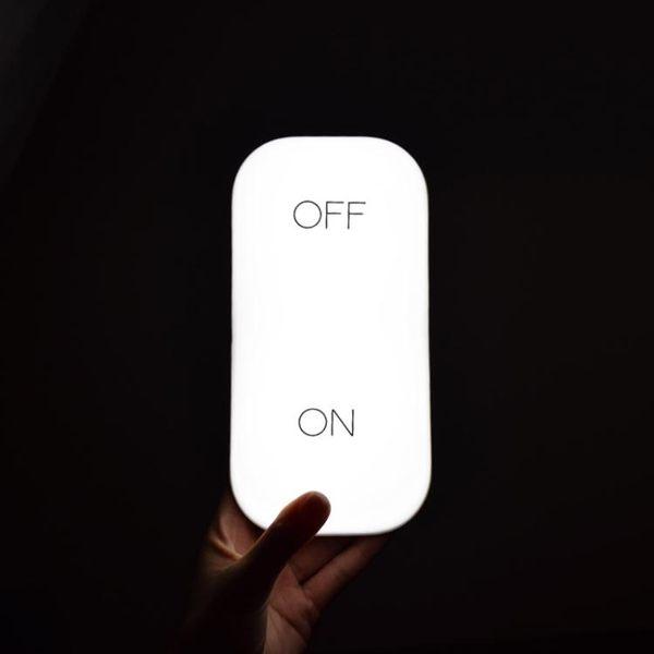 重力感應燈開關燈/創意節能臥室床頭可充電led氛圍燈/節能小夜燈