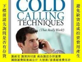 二手書博民逛書店Cold罕見Calling TechniquesY410016 Stephan Schiffman... Ad