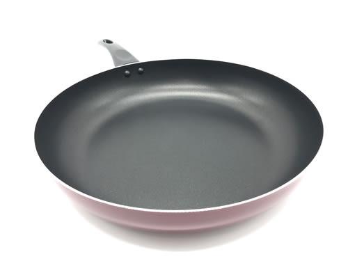 【好市吉居家生活】 001A02007 輕量不沾平底鍋 30CM 不沾鍋 炒菜鍋