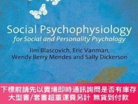二手書博民逛書店Social罕見Psychophysiology For Social And Personality Psych