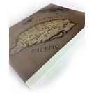 【收藏天地】台灣紀念品*懷舊系列 西洋風古地圖筆記本 / 蓋章本 手帳