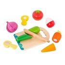 美國【B.Toys】切盤蔬菜BX1969Z[衛立兒生活館]