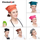頭巾帽工作頭巾帽多米來咖啡店酒店餐廳工作頭巾帽新品