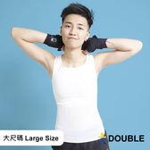 《Double束胸》COOLMESH 全網式束胸 套頭全身2L~3L大尺碼專區【D76】