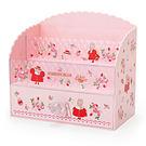 Sanrio 兔媽媽公主風桌上型化妝品收納架(草莓花束)★funbox★_249629