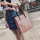 每週新品 包包女2019新款女包韓版大包包時尚休閒手提包學生簡約百搭單肩包
