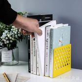 書立 桌面學生家用簡易書擋書夾書靠可伸縮收納書架 df2275【潘小丫女鞋】