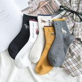 秋冬季襪子女生中筒襪韓版學院風日系純棉加厚襪保暖韓國可愛學生