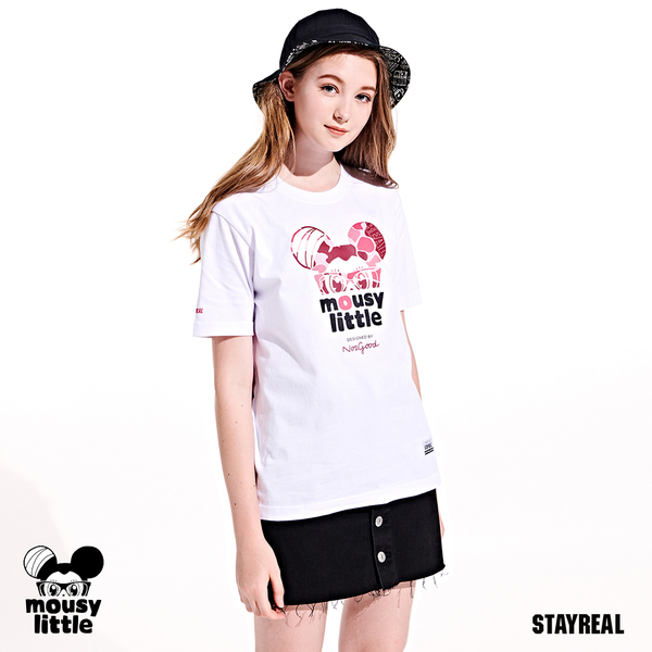 STAYREAL 迷彩鼠小小T