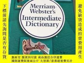 二手書博民逛書店Merriam-Websters罕見Intermediate D