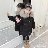 2019女童新款棉衣中大童女棉衣兒童冬裝加厚連帽棉襖休閒外套 YN2229『寶貝兒童裝』
