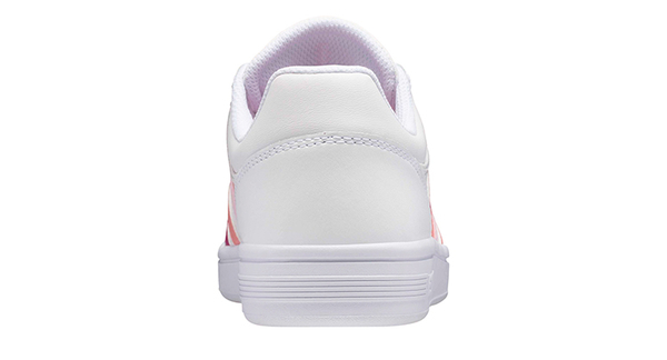 K-SWISS Court Winston時尚運動鞋-女-白/漸層粉