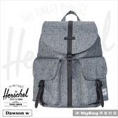 Herschel 後背包 雙口袋休閒後背包 灰色點點 Dawson w-1160 MyBag得意時袋