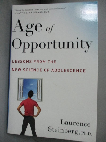 【書寶二手書T7/心理_FSX】Age of Opportunity: Lessons from the New Sci