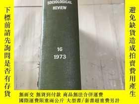 二手書博民逛書店罕見PACIFIC SOCIOLOGICAL REVIEW 19