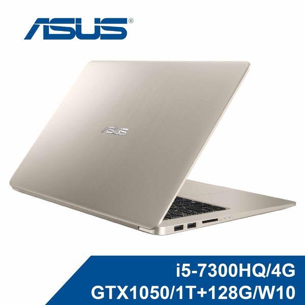 ASUS 華碩 N580VD-0171A7300HQ 冰柱金(i5-7300HQ/4G/GTX1050/1T+128G/W10)