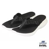 Skechers 新竹皇家 Summer Sway 黑色 織布 輕量 拖鞋 女款 NO.I9569