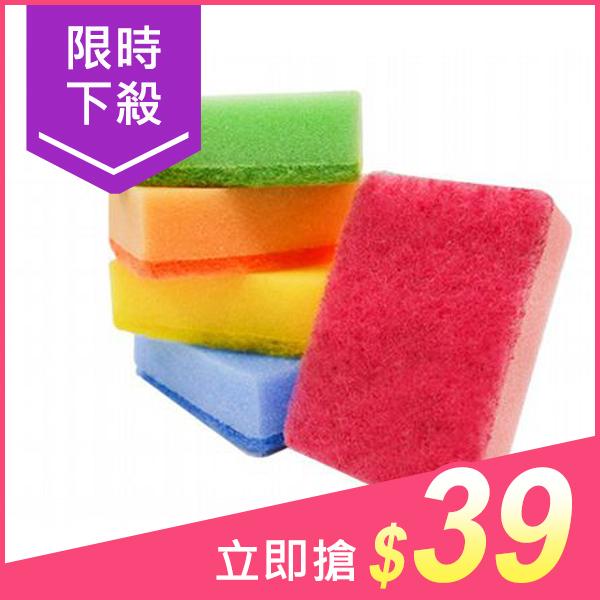 魔乾 海綿菜瓜布(5入)【小三美日】洗碗布/洗鍋布 原價$59
