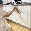 廚櫃貼紙 櫃門防油烤漆家具翻新衣櫃貼膜桌面自黏加厚防水牆貼貼紙【八折搶購】