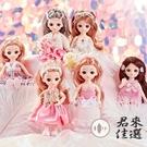 芭比洋娃娃大禮盒女孩玩具套裝長發公主兒童...