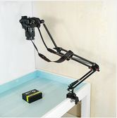 支架單眼相機架攝像頭監控架子攝影獨腳架桌面床頭投影架igo      韓小姐