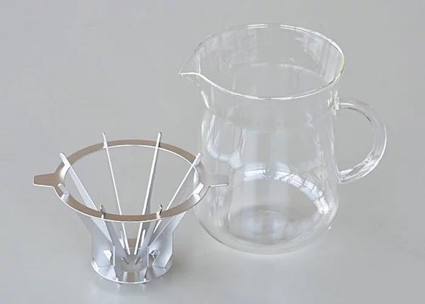 【沐湛咖啡】日本 Slow&Mellow 垂直濾杯 錐形濾杯 濾杯下壺組(1-2人)