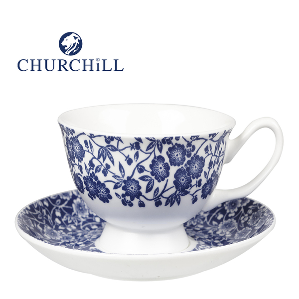 英國Churchill Queens經典英式維多利亞風情200ML杯盤組