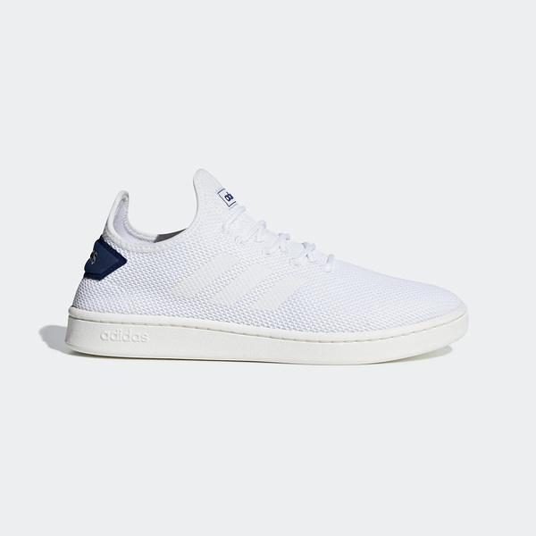 Adidas Court Adapt [F36416] 男鞋 運動 休閒 襪套 簡約 透氣 球鞋 穿搭 愛迪達 白藍