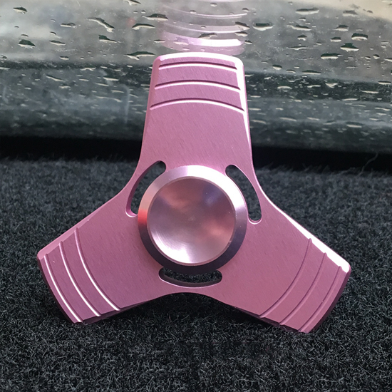 鋁合金輕小款指尖陀螺 鋁合金 輕小型 三角 手指玩具 抗煩躁【P025-4】MY COLOR