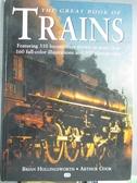 【書寶二手書T3/大學理工醫_ZJW】The Great Book of Trains_Hollingsworth, Brian/ Cook, Arthur F.