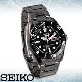 SEIKO 精工手錶專賣店 SNZF21J1 男錶 自動上鍊機械錶 黑鋼不鏽鋼錶帶 日製 強力防刮礦