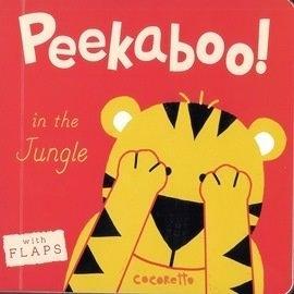 《翻翻迷藏書》PEEKABOO: IN THE JUNGLE /幼兒與動物們捉迷藏硬頁書