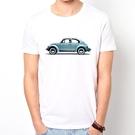 VW-Beetle短袖T恤-白色 金龜車...