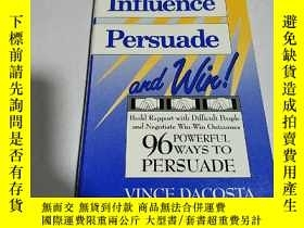 二手書博民逛書店Influencer罕見Persuade and win(英文)