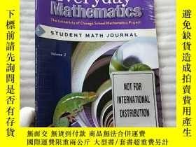 二手書博民逛書店Everyday罕見Mathematics Student Math Journal Volume 2 Grade