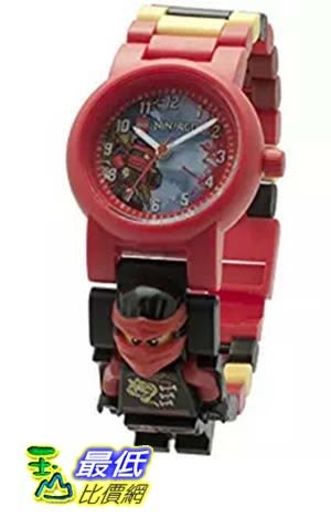 [美國直購] LEGO 8020547 人偶兒童手錶 忍者 Kids Ninjago Sky Pirates Plastic Minifigure Link Watch