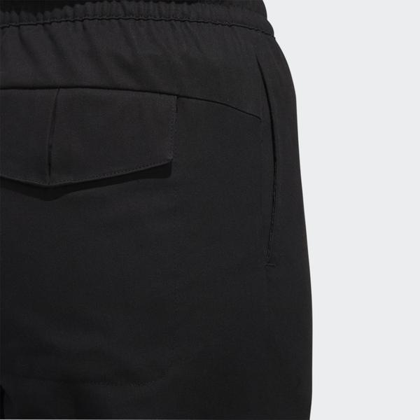 ADIDAS STY WV NEW PT 女裝 長褲 縮口 鬆緊腰 口袋 休閒 運動 黑【運動世界】GF0117