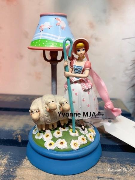 *Yvonne MJA*英國迪士尼預購區限定正品 玩具總動員4 Bo Peep 牧羊女寶貝 精緻小夜燈