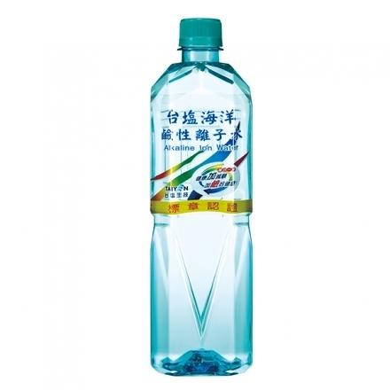 【限量11元】台鹽 海洋鹼性離子水 600ml/瓶