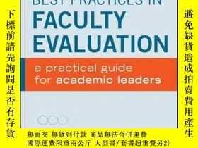 二手書博民逛書店Best罕見Practices in Faculty Evaluation: A Practical Guide