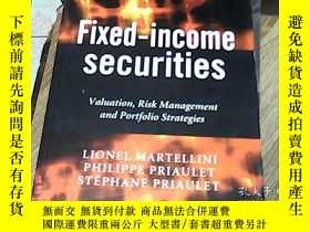 二手書博民逛書店Fixed-Income罕見Securities-Valuati