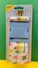 【震撼精品百貨】Rilakkuma San-X 拉拉熊懶懶熊~拉拉熊行李束帶-藍三角形#70990