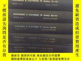 二手書博民逛書店MONOMERS罕見& POLYMERS IR Grating