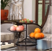 小鄧子果盤創意現代客廳糖果盒水果盤家用乾果盤客廳茶几過年零食盤(3格盤)