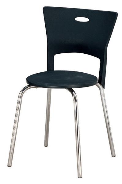 【 IS空間美學】維亞餐椅(四色可選)