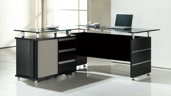 書桌 電腦桌 CV-601-4 CP-2655 L型主桌 (不可拆賣)【大眾家居舘】