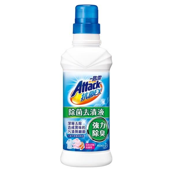 【一匙靈】抗菌EX除菌去漬液 (600ml瓶裝 x 16入)